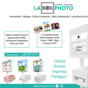 Laboxphoto… la borne photo INDISPENSABLE !